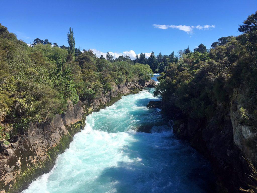 De Huka Falls in Taupo