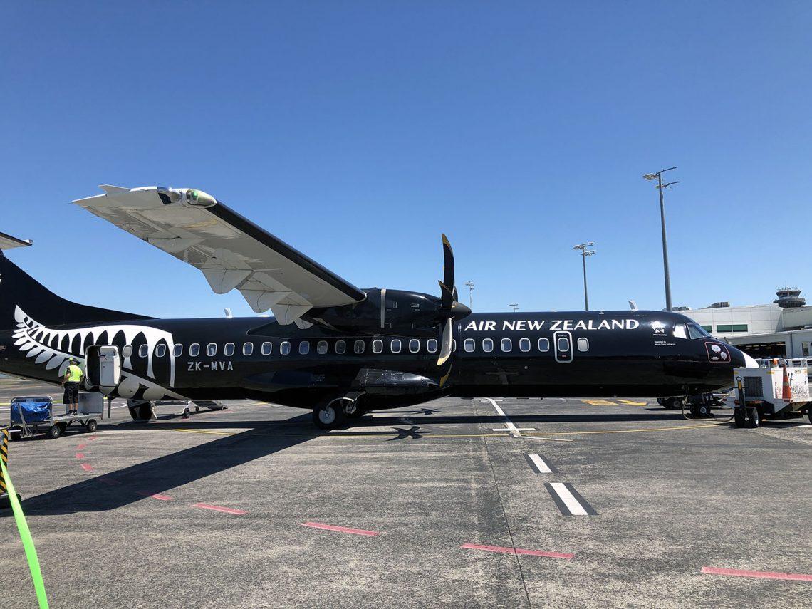 Vliegen naar Nieuw-Zeeland