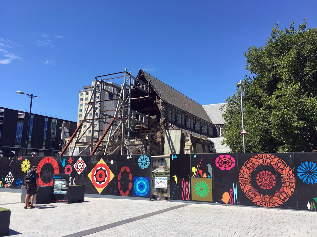 Cathedral Square Christchurch