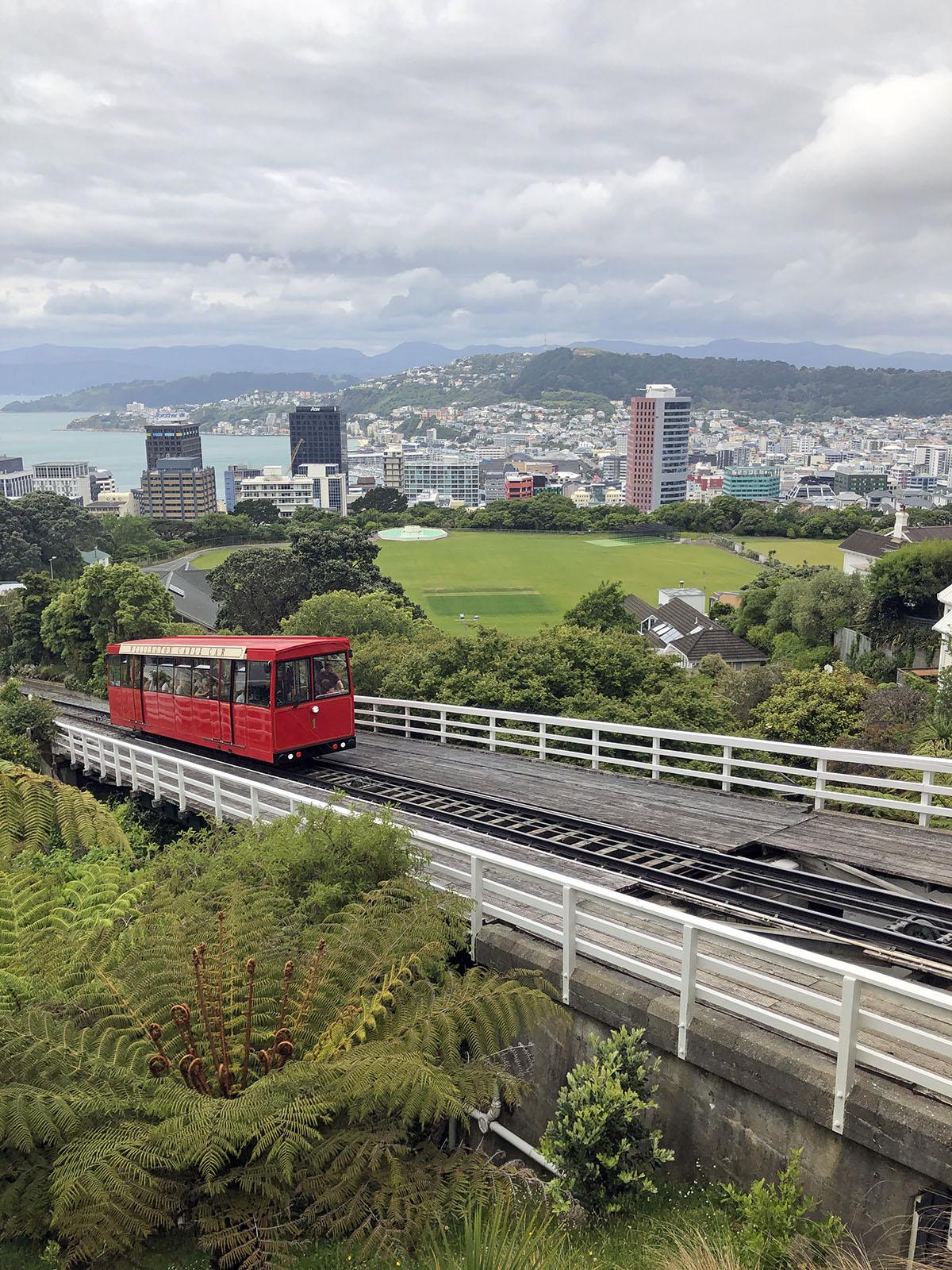 De Wellington Cable Car