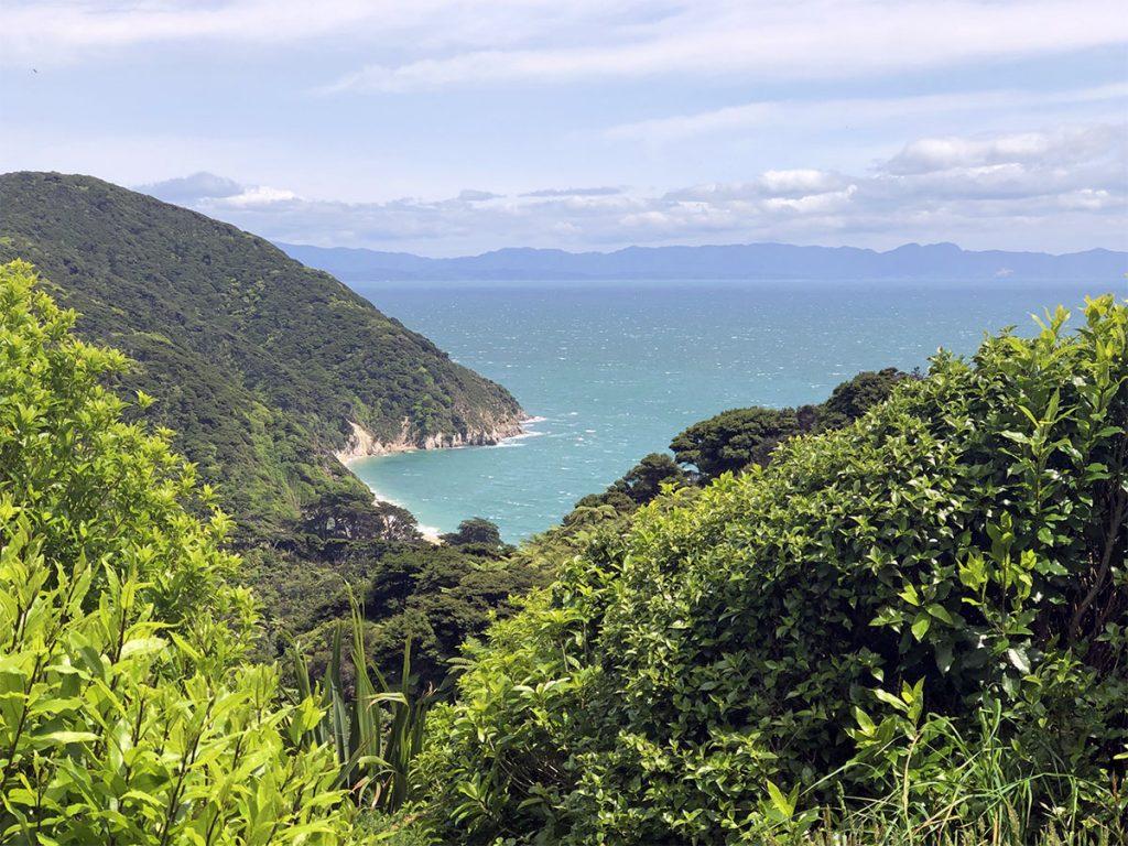 Wandelingen in Abel Tasman National Park Whariwharangi Bay
