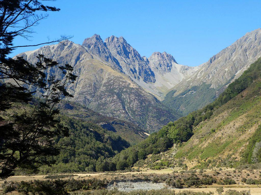 Greenstone Valley bij Glenorchy, mooiste plekken in Nieuw-Zeeland