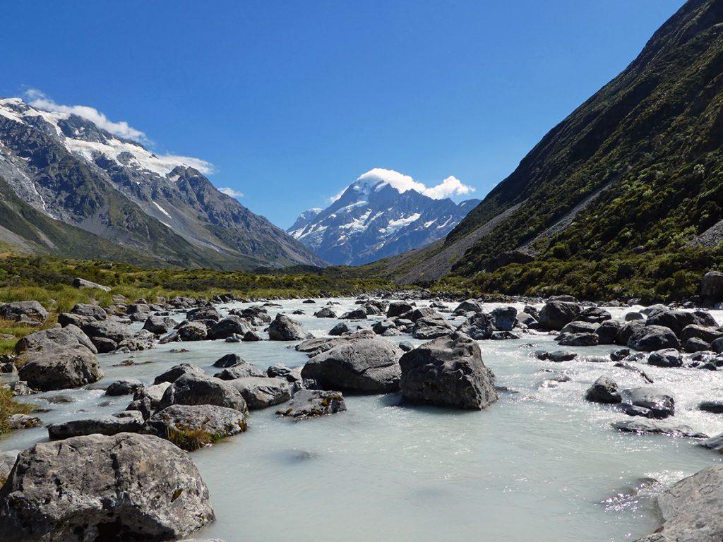 De hoogste berg van Nieuw-Zeeland