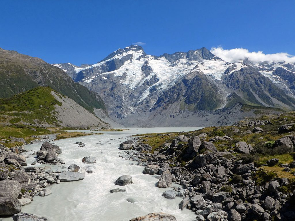 De mooiste plekken in Nieuw Zeeland: Mount Cook National Park