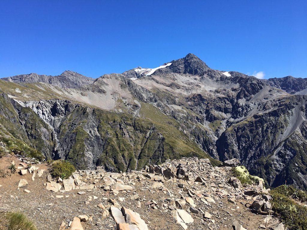 De bergen van Arthurs Pass, Nieuw-Zeeland