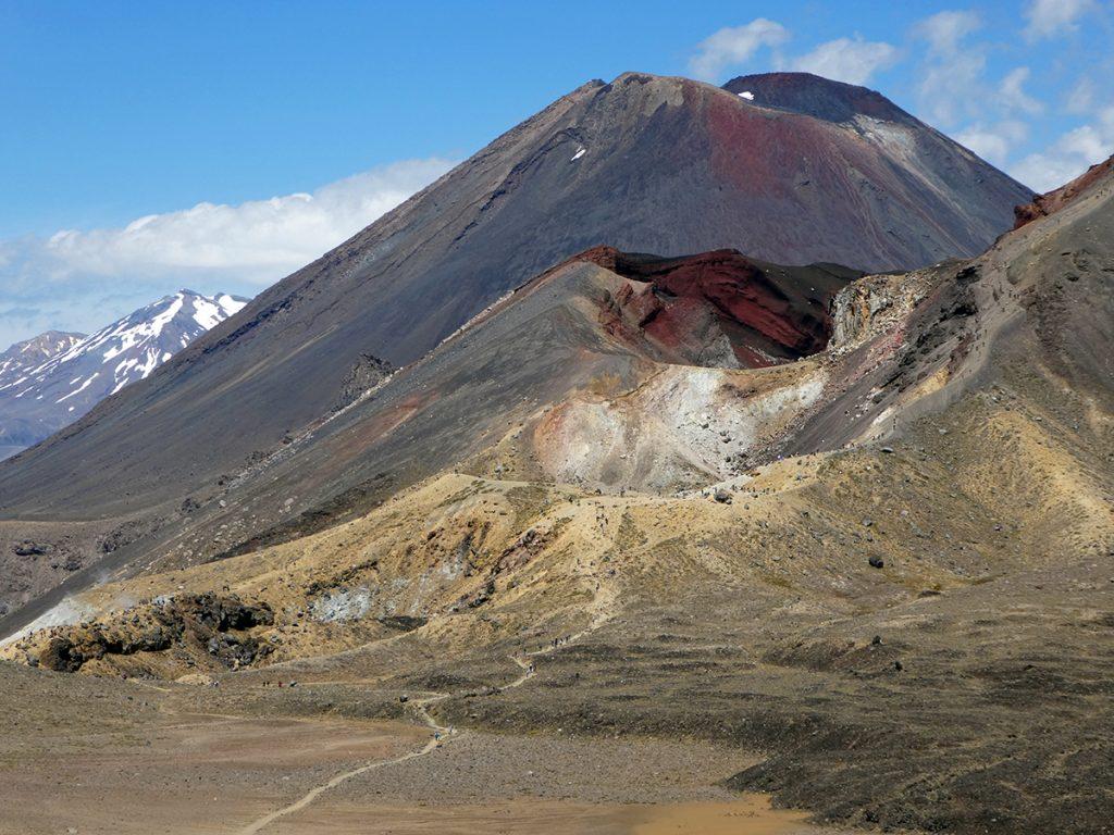 De vulkanen van Tongariro National Park