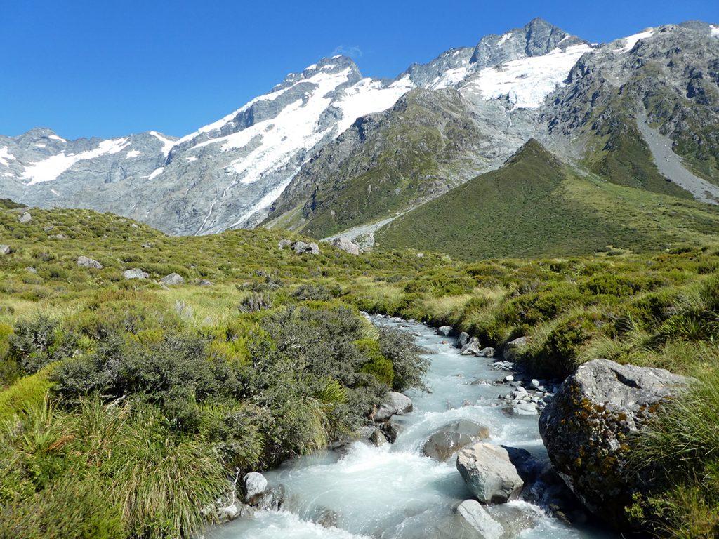 Hooker Valley in Mount Cook National Park