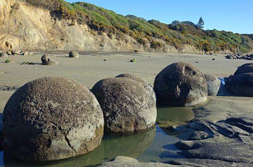 Moeraki Boulders Nieuw-Zeeland