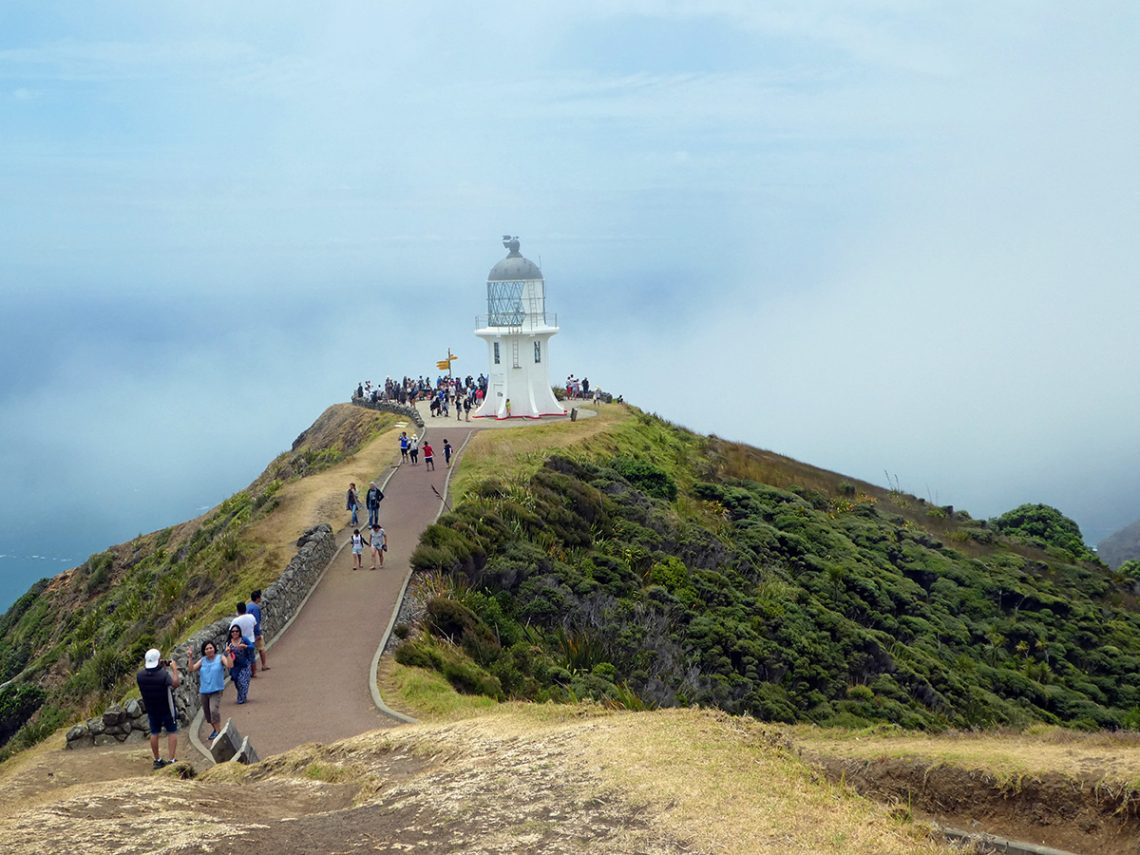 Cape Reinga Nieuw-Zeeland