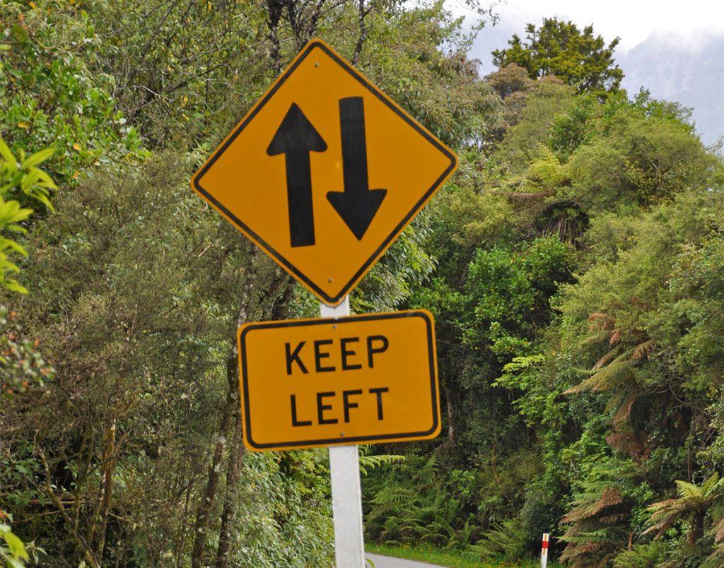 Autorijden in Nieuw-Zeeland