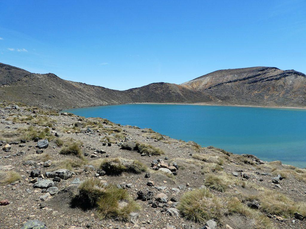 Blue Lake in Tongariro National Park